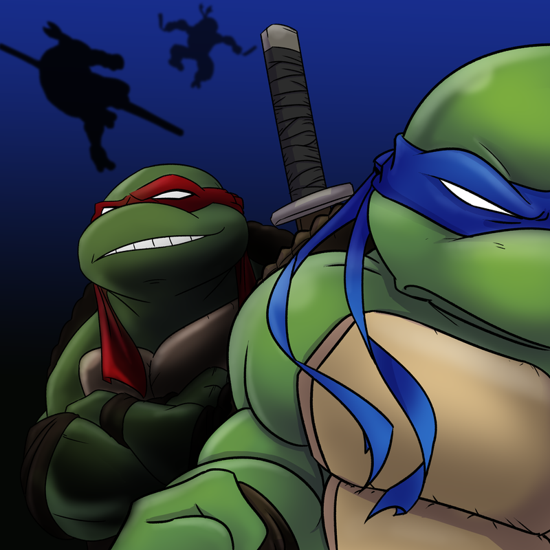 Junetoon 2019 turtle, digital art of Nickelodeon teenage mutant ninja turtles shredder and the foot clan