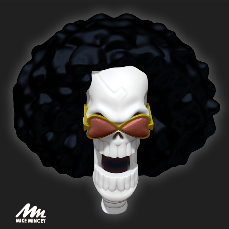 Brook, one, piece, 3d, model, mike mincey, art